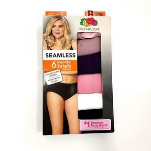 Fruit of the Loom  6pk Seamless Low-Rise Briefs